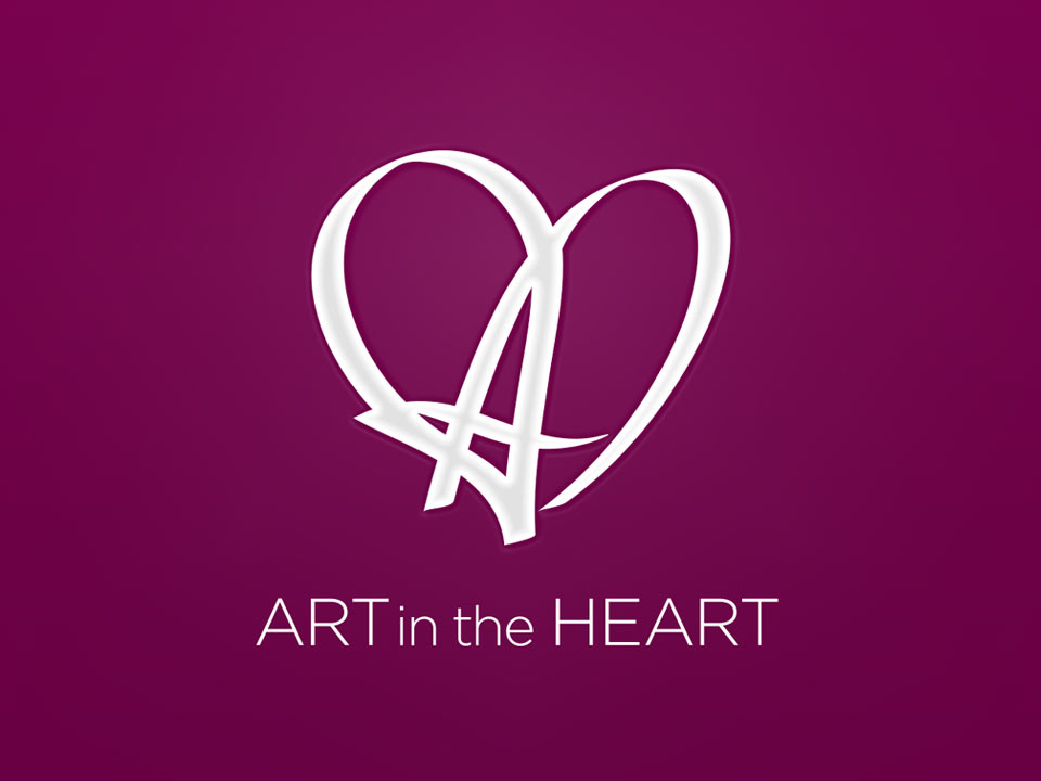 Art in the Heart brand design by Sensation Creative